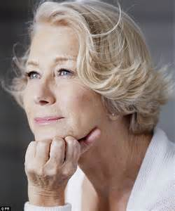 70 year old beauty so helen mirren what is the truth about you and cosmetic