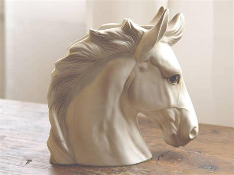 Home Decorator Showcase by Vintage Lefton Horse Head Planter Sculpture Container