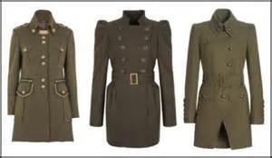 women s military coats review fashion winter 2010 11