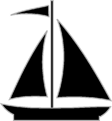 simple boat clipart simple silhouette of a sailboat craft ideas pinterest