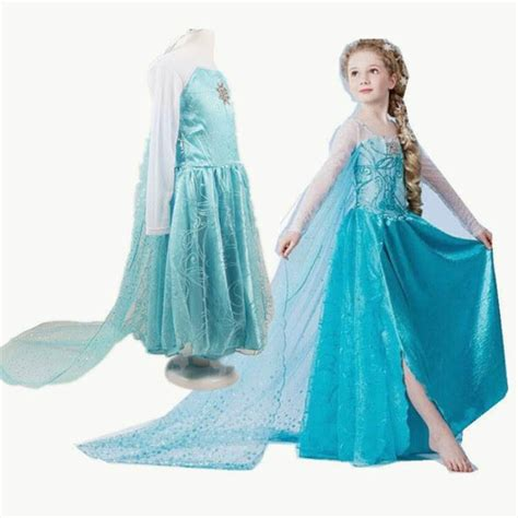 Baju Elsa jual baju frozen elsa 03 dress frozen aphone shop