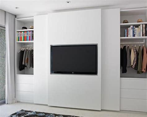 flat screen tv in a closet шкаф купе в интерьере практичный и эстетичный предмет