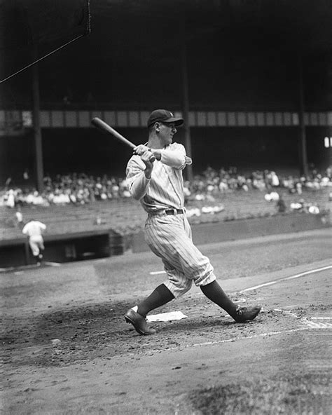 lou gehrig swing lou gehrig pre game swing by retro images archive