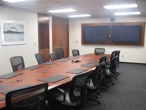 conference room technology ec research infrastructure education commons at oise