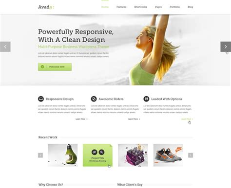 avada theme psd free download 31 premium and best free psd website templates design