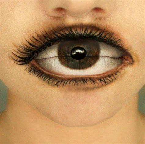 Ilusiones Opticas Halloween   15 ilusiones 243 pticas con maquillaje para celebrar el
