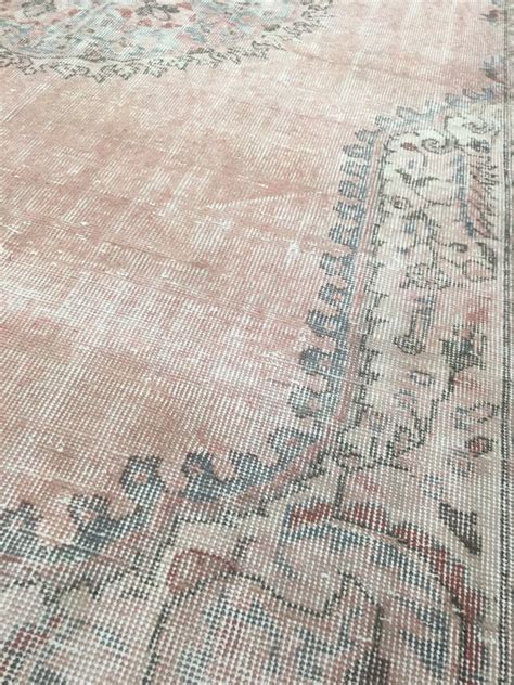 antique washed rugs new vintage turkish sivas rug with a white wash process effect from boga rugs at