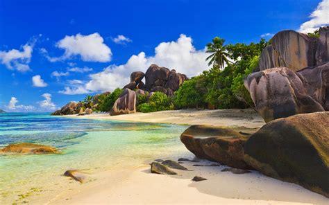 tropical beach wallpapers desktop wallpaper cave