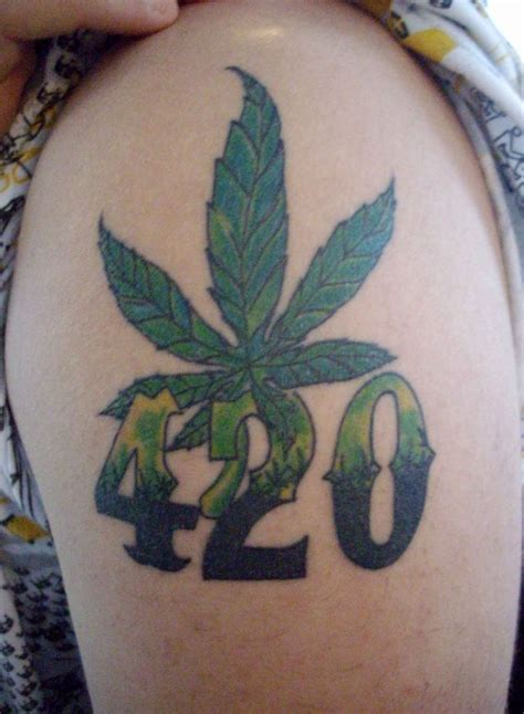 weed plant tattoo 420 tattoos 301 moved permanently related tattoos
