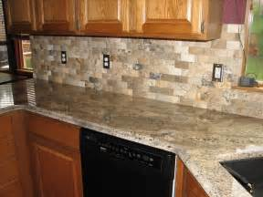 kitchen stone backsplash ideas with dark cabinets stacked stone backsplash contemporary kitchen