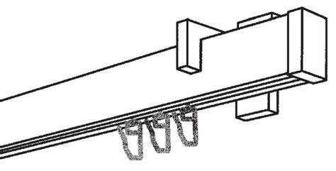 Gardinenleiste An Decke Anbringen by Gardinenstangen F 252 R Die Deckenmontage V2a Optik 1 L 228 Ufig