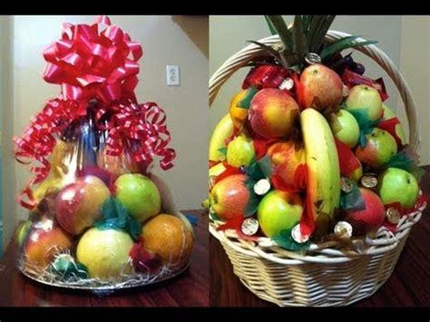 canasta de frutas para regalo como hacer canastas de fruta para regalo o para padrinos