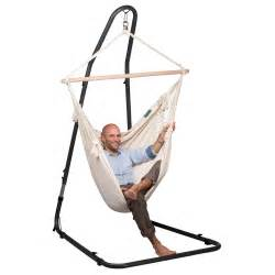 Swing Chair With Stand The Mediterraneo Metal Hanging Chair Stand Westmount Living