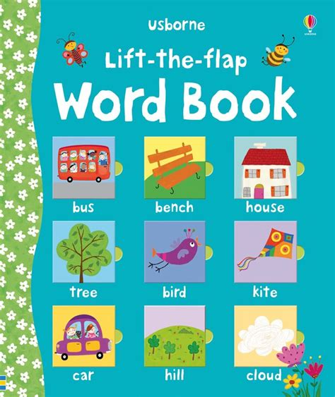 words and pictures book lift the flap word book at usborne children s books