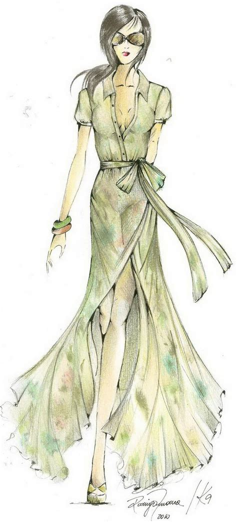 Sketches Clothes by 30 Cool Fashion Sketches