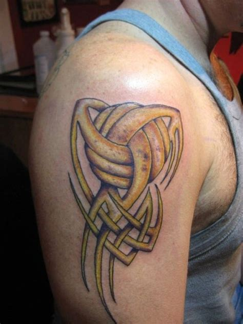 volleyball tattoos tribal tribal