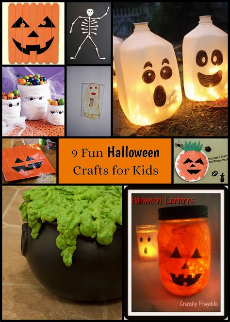 halloween craft ideas for kids craft ideas pinterest 9 halloween crafts for kids musings from a stay at home mom