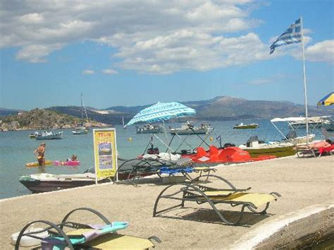 Dolfin Tolo Greece Europe jetty outside the dolphin