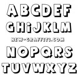 16 font styles alphabet images graffiti letters styles