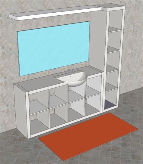 mobile bagno fai da te faidate con sketchup mobile per il bagno facile bello