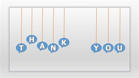 thank you animated templates for powerpoint animated thank you ppt template with talking balloon ppt