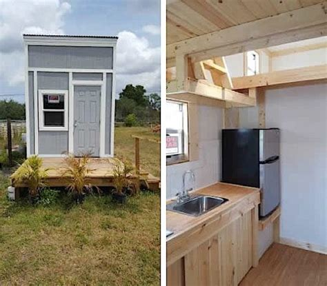 tiny houses in florida 212 sq ft tiny house for sale in florida