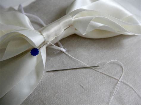 Diy Cing Pillow by How To Sew A Ring Bearer Pillow For A Wedding On