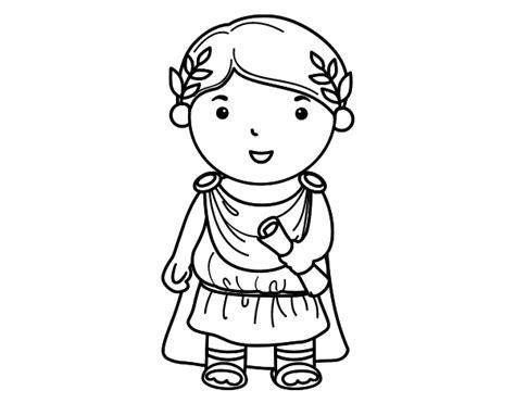 Julius Caesar Of Little Boy Coloring Page Coloringcrew Com Julius Caesar Coloring Pages