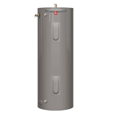 rheem electric hot water heaters home depot
