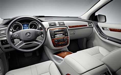 R Interior by Mercedes R Class Price Modifications Pictures