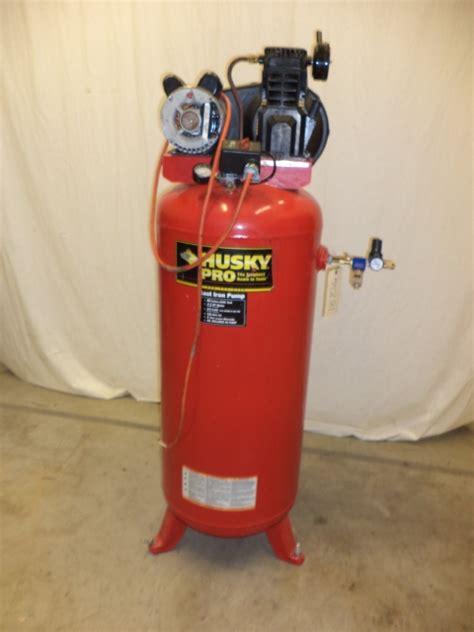 Husky 3.2HP air compressor, 11.8 @40 PSI SCFM at Wohl Associates