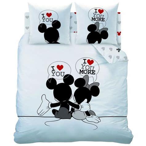 Housse De Couette Minnie 220x240 by Housse De Couette 220x240 Mickey Et Minnie Couettes