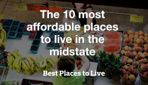 most affordable places to live on the west coast the 10 most affordable places to live in the midstate