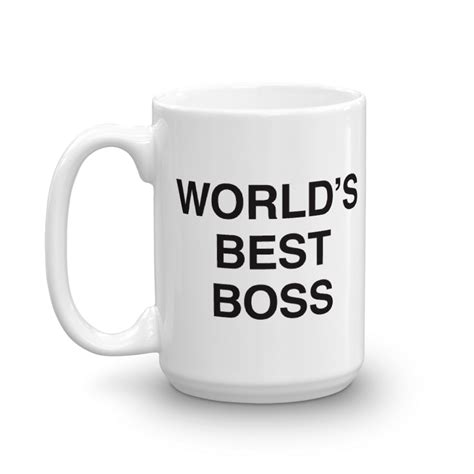 best mug the office world s best boss white mug