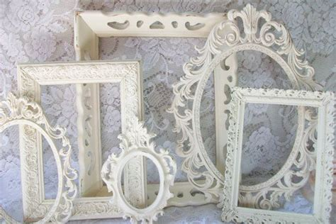 shabby chic picture frame shabby chic white frames picture frame set ornate frames