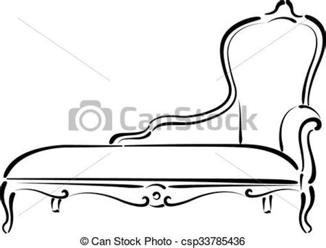 Sofa Sketch Search Drawing by Vectors Of Sketched Sofa Daybed Illustration