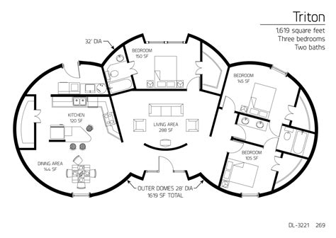 underground home floor plans concrete dome house plan fantastic new in nice concretee