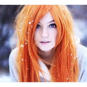 orange hair color orange hair chalk hair chalking pastels temporary hair