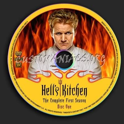 Hell S Kitchen Season 1 by Hell S Kitchen Season 1 Dvd Label Dvd Covers Labels