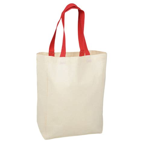 Cotton Grocery 4imprint ca cotton grocery tote c134022 imprinted with