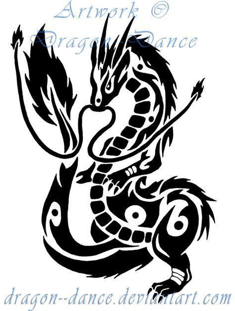 tattoo oriental tribal tribal oriental dragon commission by dansudragon on deviantart