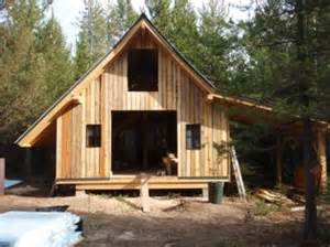 Cabin Plans With Garage untreated pine poles roundwood and timber framing forum