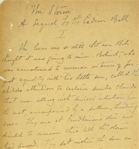 The Kate Chopin Essay by Kate Chopin Archives