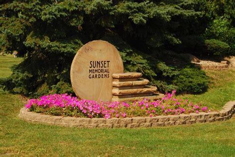 Sunset Gardens Cemetery by Sunset Memorial Gardens Winnebago County Illinois