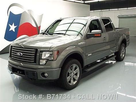 2012 ford f 150 fx4 ecoboost white crew cab 20 inch wheels f 150 photo buy used 2012 ford f 150 fx4 ecoboost crew 4x4 sunroof nav