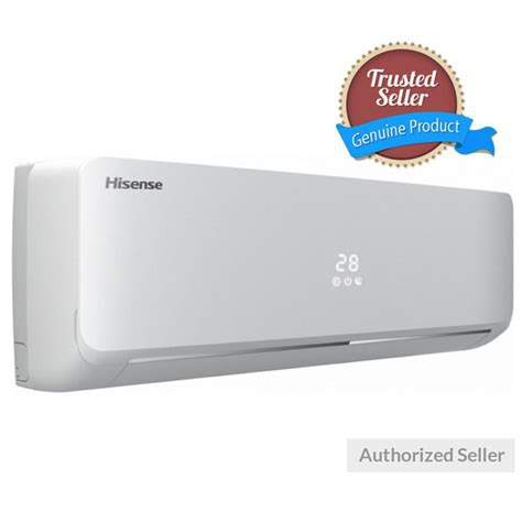 hisense heat coolwith kit  ton split ac
