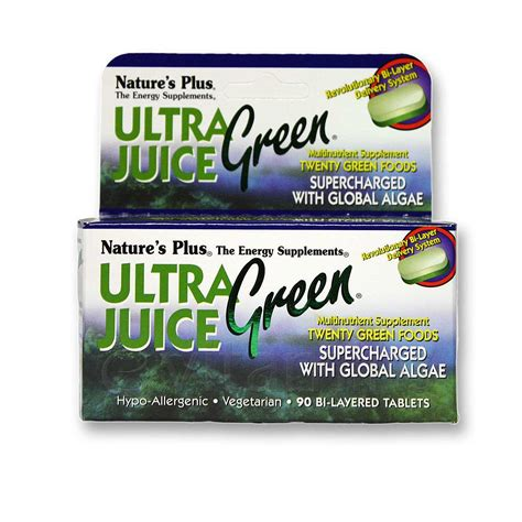 Juice Plus Detox Headache by Nature S Plus Ultra Juice Green 90 Tablets Evitamins