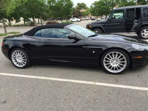 Aston Martin Extended by Purchase Used Aston Martin Db9 6 Speed Manual With