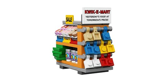 lego badezimmerzubehör lego simpsons kwik e mart images show donuts and