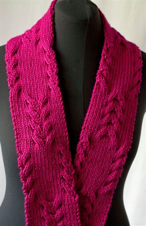 stricken schultertuch reversible scarf knitting patterns in the loop knitting